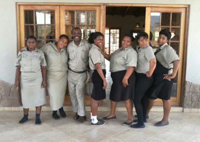 Staff at Bayala
